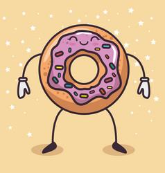 delicious dessert design vector image