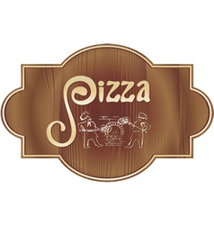pizza6 vector image vector image