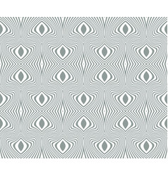 tangier grid seamless guilloche pattern vector image