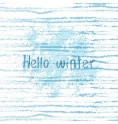Winter grunge background vector