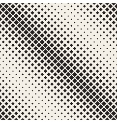 Seamless black and white diagonal halftone vector
