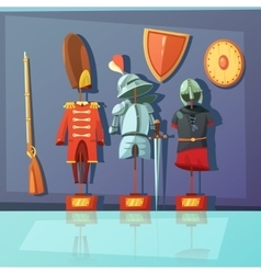 Museum armor vector