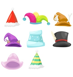 Collection HAT vector image vector image