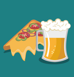Fast food design isolated vector