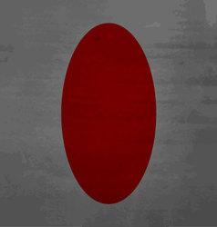 Grunge messy flag Japan vector image vector image
