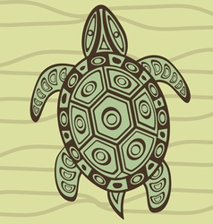 Turtle 4 vector image