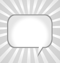 Blank empty speech bubbles vector