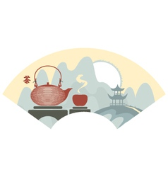 China tea vector