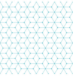 Cube-and-dot-pattern-background vector