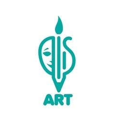 logo art vector image