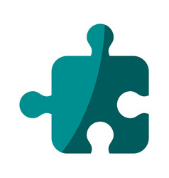 puzzle tab game vector image