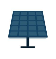 solar panel cartoon vector image vector image