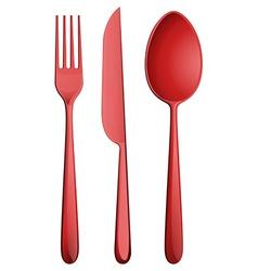 Three kitchen utensils vector