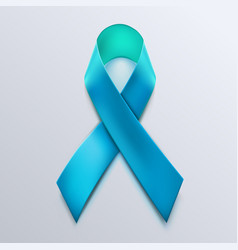 blue ribbon sign isolated on white background vector image