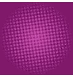 Dots on purple background pop art background vector