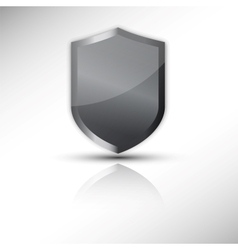 protection shield icon vector image vector image