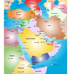 Middle-east vector