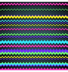Zigzag background vector