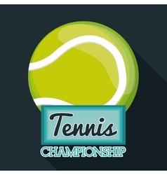 Tennis sport design vector