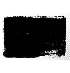 Rectangular text box black oil stains vector