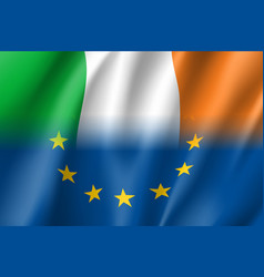 Symbol ireland is eu member vector