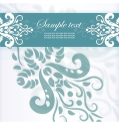 Template frame Abstract background vector image vector image