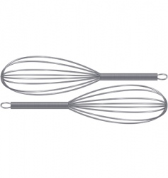 whisks vector image