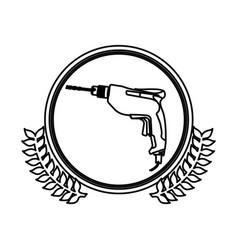 figure symbol drill icon image vector image