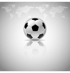 football mirror vector image