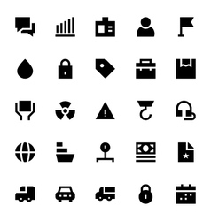 Shipping and Delivery Icons 3 vector image