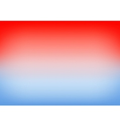 Blue serenity red gradient background vector