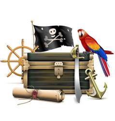 Pirate concept vector
