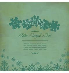 vintage festive background vector image vector image