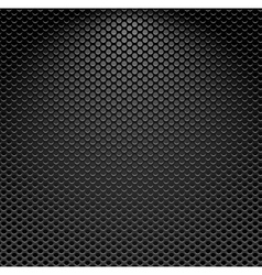 Metallic textured background vector
