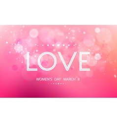 International womens day on march 8 vector