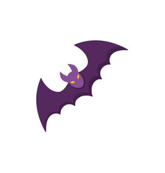 bat icon for web isolated on white background vector image