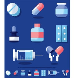 Drugs vector image vector image