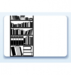 library vector image vector image