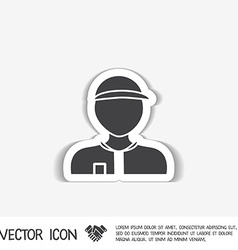 A male avatar picture a man icon image man wearing vector