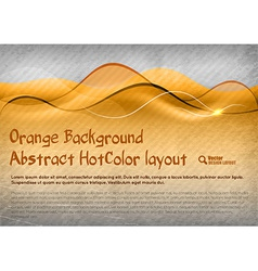 HotColor Background vector image vector image