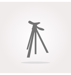 photo tripod photo tripod icon vector image vector image