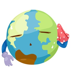 Global warming vector