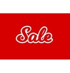 Sale text desing vector