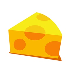 Icon cheese vector