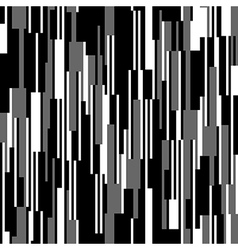 Seamless black and white pattern vertical lines vector image
