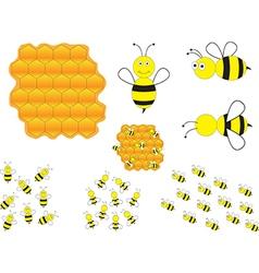 Bumblebees vector