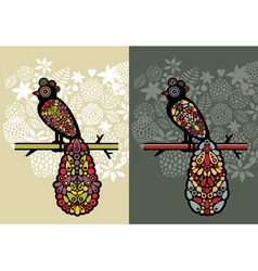 Decorative Birds vector image vector image