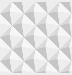 grey triangles seamless pattern vector image vector image