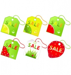 Retail sale labels vector
