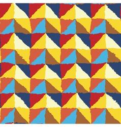 Ornate rough edges geometric background vector